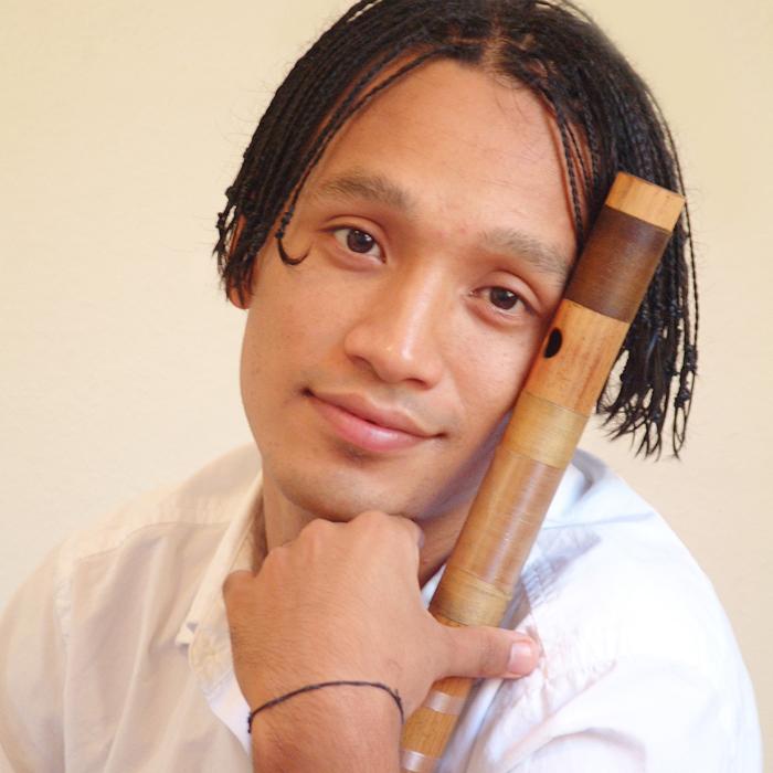 Manose with bansuri flute